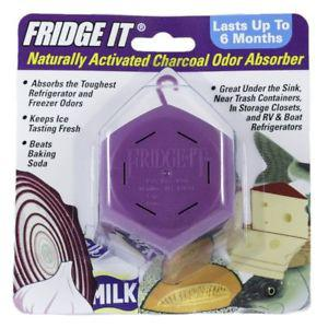 Fridge-It Cube, Naturally Activated Charcoal Deodorizer,