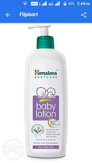 Himalaya Baby Lotion Pump Bottle 400 ml