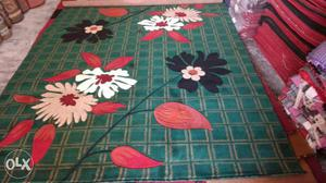 This is 6×8 handmaid carpet from bhadohi u.p...in two