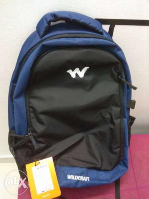Wildcraft fresh original delta blue nd black bag. Retail