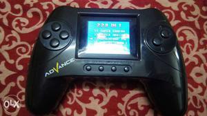 Black Advance SP Game Controller