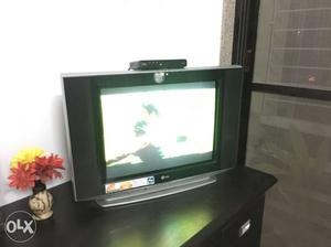 Black And Gray LG CRT TV
