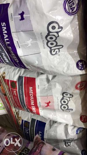 Drools dog food on discount and offers