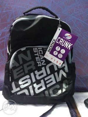 Mrp rs  brand new bag American tourister hurry