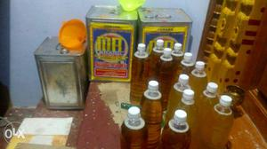 A pure oil (gingelly oil (nellennai) and