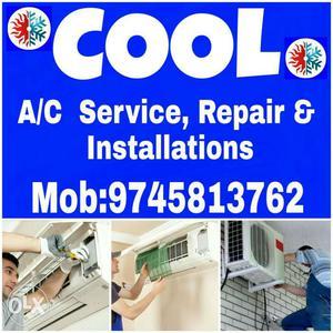 AC Service, Repair & Installations