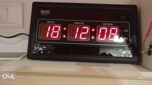 Ajanta Digital clock 3 months old
