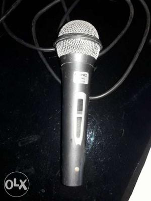 Black And Gray Wireless Microphone 12 days old