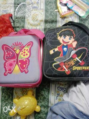 Lunch bags...pack of two..New one..Not used