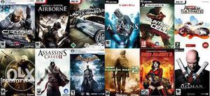We have all kind of PC games in 300 for 6