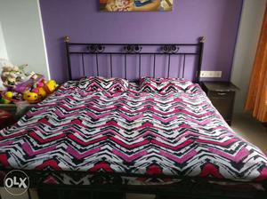 Wrought Iron double bed king size