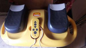 Yellow And Black Tele Mall Mini Stepper