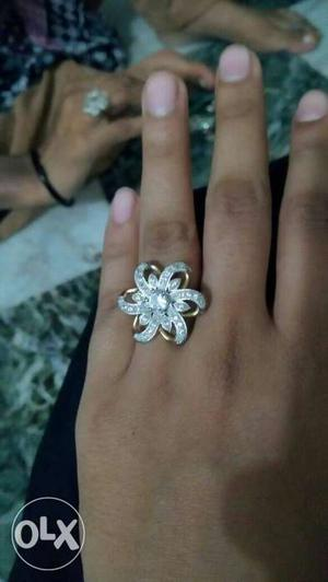 Best american diamond ring selling at low price