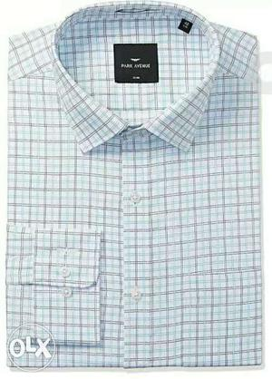 Brand new park avenue formal shirt