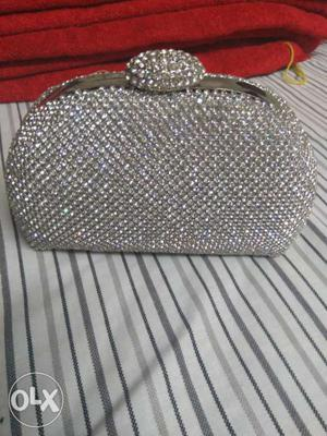 Diamond clutch purse from dubai..on very low