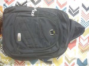 Unused office bag, jet black colour for sale. 3