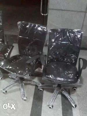 80 Net back office chairs or office chairs brand new and