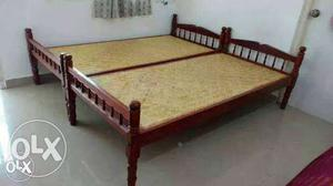 Bed for sale,wooden single,double,brand new