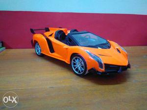 Remote control car with rechargeable battery led