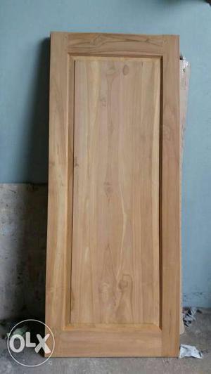 Teak wood door full 35 mm