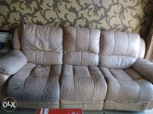 Three seater lounge sofa