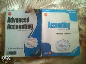 Advanced Accounting And Accounting By Parveen Sharma Books