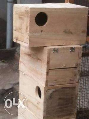 Birds breeding box available for all type of birds