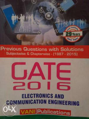 Gate  Electronics And Communication Engineer Bok
