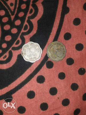 India 10 paise and pakistan 10 paise only 12o rupee