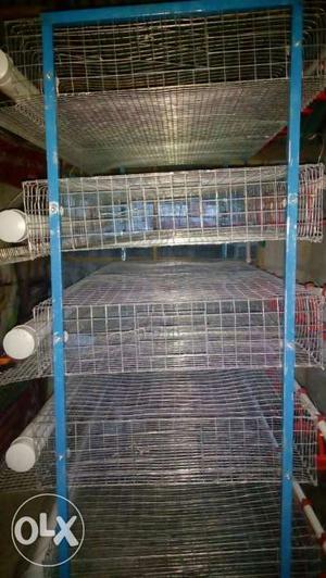 Kada rearing hi-tech cage.