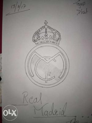 Real Madrid symbol Only for real football fabs