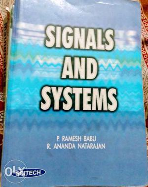 Signals And Systems By Babu And Natarajan