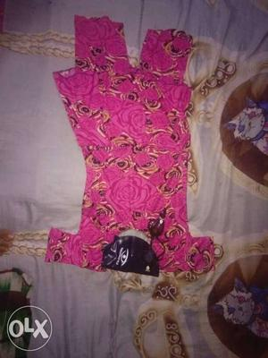 Swimming suit for girls with cap and spects in