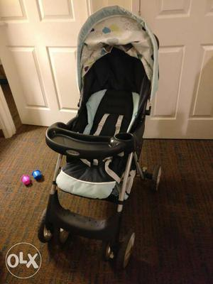 Graco Stroller with attachable Car seat. only 6