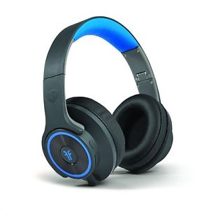 RadioShack Ncredible Flips - Black & Blue Over Ear
