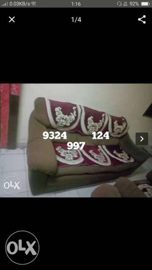 Sponge sofa n very comfortable in a good condition