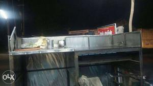Stainless steel gas stove...with double