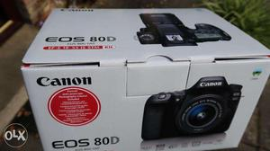 Canon EOS 80D DSLR Camera With mm Lens