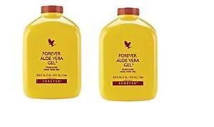 Forever Living Aloe Vera Gel - 1 L (Pack of 2)
