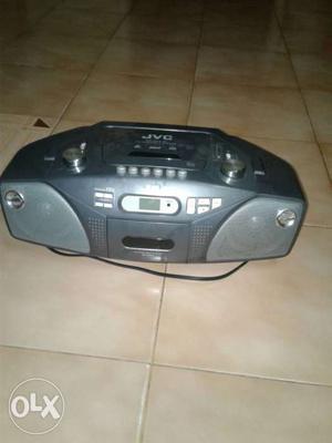 Gray JVC CD Player