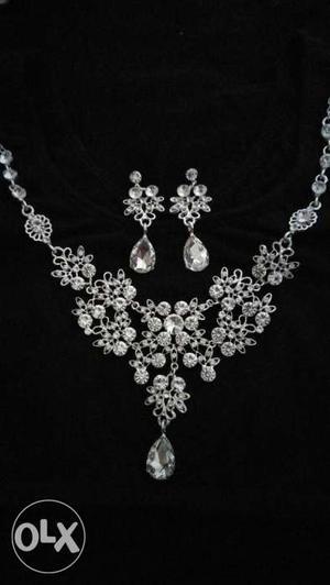 American Diamond jewellery set premium quality