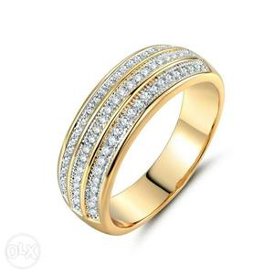 Imported Finger Rings For Women Three Rows