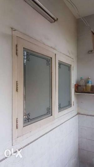 KITCHEN Burma teak wood frame with window and