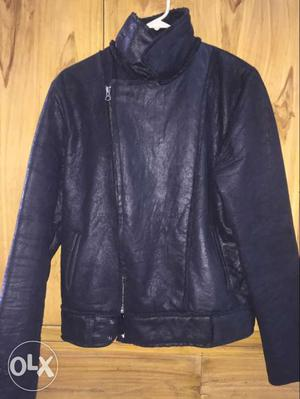 Suede leather brand new jacket