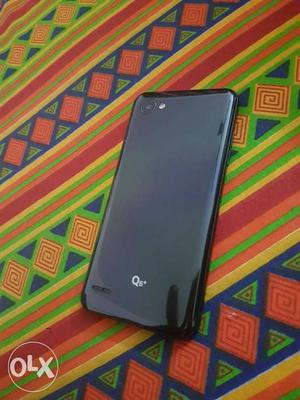 Brand New Lg Q6 Plus Black// purchasing done on