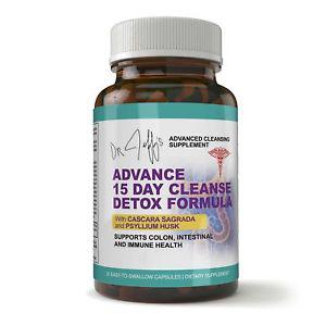 Dr. Jeff's Colon: Advanced 15 Day Detox Cleanse Formula to