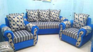 { 5 seated } new fancy Sofa set in best price.