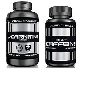 Kaged Muscle Fat Loss Stack (L-Carnitine + Caffeine)