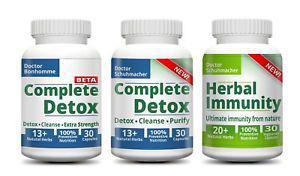 Longevity Detox Combo - Thorough detox & cleanse as easy as