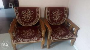 3*2 Sofa set with cover